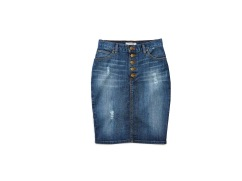 GUESS Originals Hi-Waisted Denim Skirt