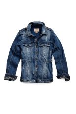 GUESS Spring14 Safari Denim Jacket $148