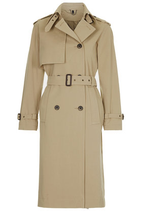 Topshop premium trench coat ($150.00)